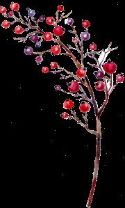 18-berry branch
